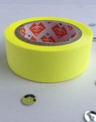 Neon geel paper tape large