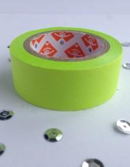 Neon groen paper tape large