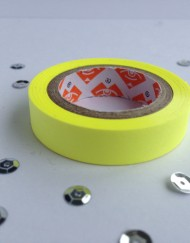 Neon geel paper tape small