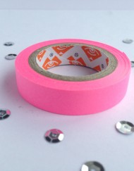 neon roze tape small