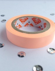 Neon Perzik paper tape small