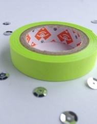 Neon groen paper tape small