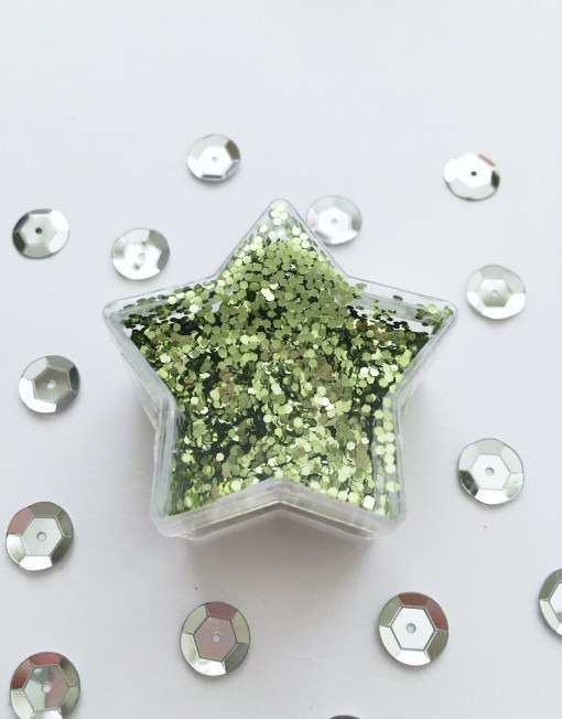 glitter grove groen
