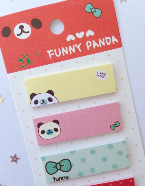 sticky notes funny panda2