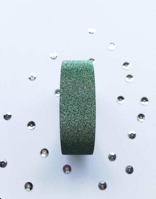 glitter tape groen