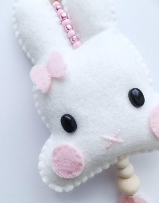 konijn roze 3