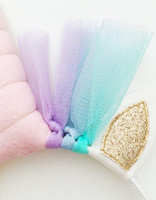 unicorn-diadeem-roze-goud