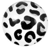 Muurdecoratie leopard lichtgrijs 20mm
